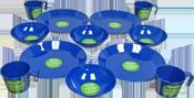 Coghlans Tableware Sets - ideal for picnics