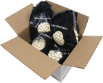 2000 .68 Caliber White Paintballs with White Fill